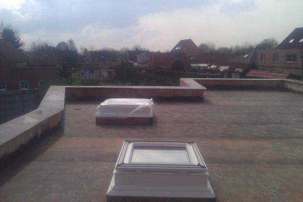 13. Veluxen plat dak